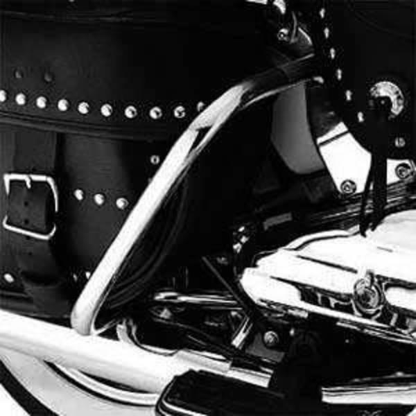 Harley-Davidson Verchromte Satteltaschenbügel, Hinten Für Softail Ab Bj. 2000