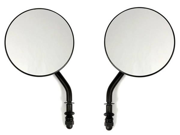 spiegel rund schwarz matt 10cm durchmesser. Black Bedroom Furniture Sets. Home Design Ideas